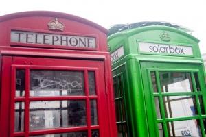 znamenitye telefonnye budki londona stanut zelenymi Знаменитые телефонные будки Лондона станут зелеными
