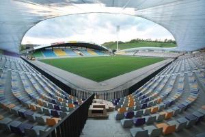 v maribore za dolgi obestochen stadion В Мариборе за долги обесточен стадион