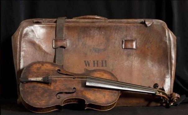 naidena skripka igravshaya v poslednie minuty jizni passajirov titanika Найдена скрипка, игравшая в последние минуты жизни пассажиров Титаника