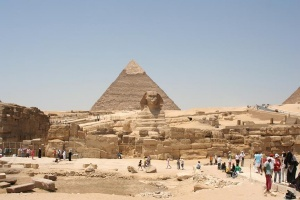 statuya sfinksa v egipte vnov otkrylas dlya turistov Статуя Сфинкса в Египте вновь открылась для туристов