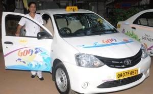 v goa poyavilis jenskie taksi В Гоа появились женские такси