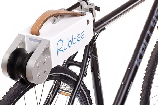 Rubbee 2 0 sdelaet elektrovelosiped iz obychnogo baika za neskolko sekund Rubbee 2.0 сделает электровелосипед из обычного байка за несколько секунд