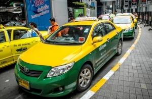 glavnyi aeroport bangkoka obzavelsya kioskami avtomaticheskoi ocheredi na taksi Главный аэропорт Бангкока обзавелся киосками автоматической очереди на такси