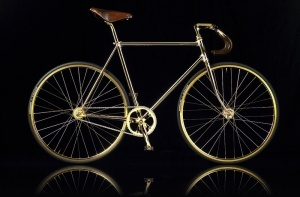 v londone sozdali velosiped iz zolota В Лондоне создали велосипед из золота