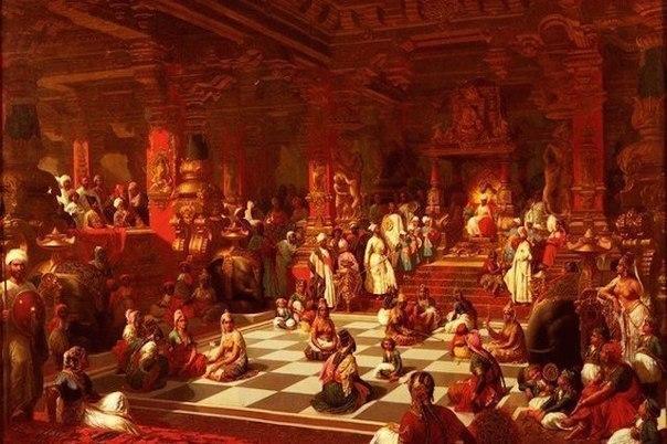 krovavye shahmaty inkvizitora Кровавые шахматы инквизитора