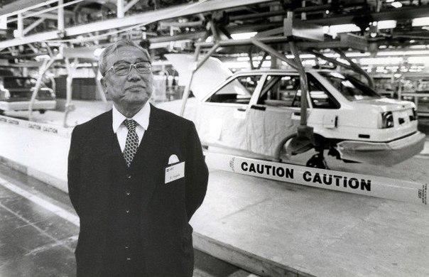 odin iz osnovatelei korporacii Toyota Motors eidzi toioda Один из основателей корпорации «Toyota Motors» Эйдзи Тойода