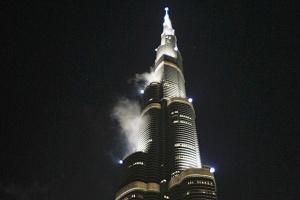 samyi vysokii neboskreb v mire gorit v dubae Самый высокий небоскреб в мире горит в Дубае