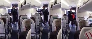 zadornyi tanec styuardessy stal hitom interneta Задорный танец стюардессы стал хитом интернета