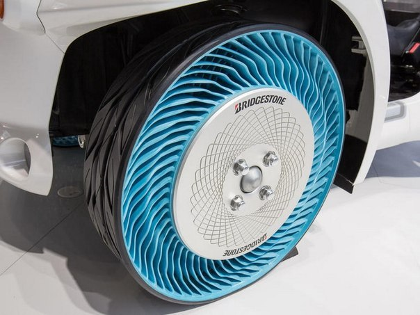 Bridgestone predstavila novye shiny kotorye nikogda spuskayut Bridgestone представила новые шины, которые никогда спускают