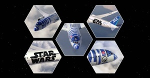 yaponskaya aviakompaniya obzavelas samoletom iz zvezdnyh voin Японская авиакомпания обзавелась самолетом из «Звездных войн»