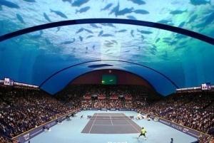 pervyi v mire podvodnyi tennisnyi kort poyavitsya v dubae Первый в мире подводный теннисный корт появится в Дубае