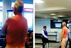 passajir ustroil striptiz v aeroportu severnoi karoliny Пассажир устроил стриптиз в аэропорту Северной Каролины