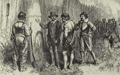 odna iz samyh jguchih tain rannei istorii ameriki Одна из самых жгучих тайн ранней истории Америки