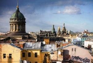 turisty nazvali kryshi glavnoi dostoprimechatelnostyu sankt peterburga Туристы назвали крыши главной достопримечательностью Санкт Петербурга