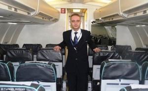 rodivshiisya v samolete mujchina ustroilsya rabotat bortprovodnikom Родившийся в самолете мужчина устроился работать бортпроводником