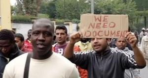 centralnaya ulica milana zablokirovana migrantami Центральная улица Милана заблокирована мигрантами