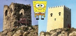 posle restavracii zamok v stambule stal pohoj na gubku boba После реставрации замок в Стамбуле стал похож… на Губку Боба