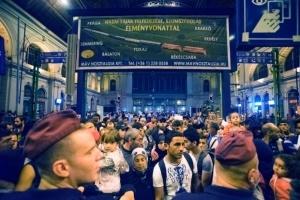 vokzal budapeshta otkrylsya posle vydvoreniya migrantov Вокзал Будапешта открылся после выдворения мигрантов