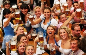 oktoberfest startuet v germanii Октоберфест стартует в Германии