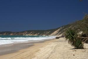 odin iz plyajei avstralii ushel pod vodu Один из пляжей Австралии ушел под воду