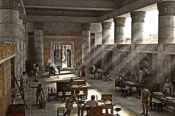 aleksandriiskaya biblioteka Александрийская библиотека