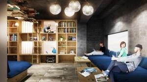 hostel dlya lyubitelei knig otkryvaetsya v tokio Хостел для любителей книг открывается в Токио