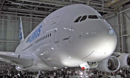 samyi bolshoi passajirskii samolet v mire Самый большой пассажирский самолет в мире