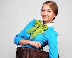 samuyu krasivuyu styuardessu vybrali v moskve Самую красивую стюардессу выбрали в Москве