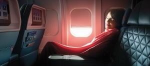 amerikanskaya aviakompaniya naryadit passajirov v pijamy Американская авиакомпания нарядит пассажиров в пижамы