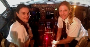 v kabine pilotov el al tolko jenshiny В кабине пилотов «Эль Аль» только женщины