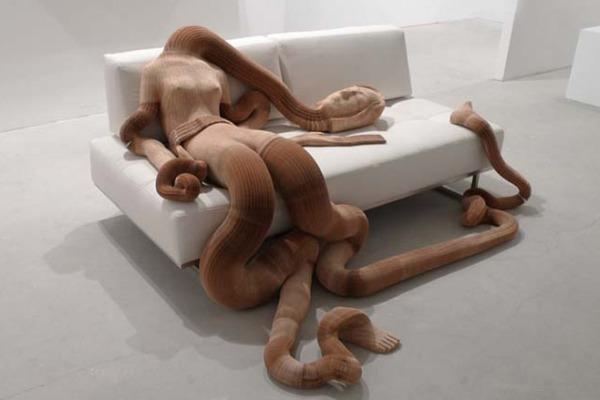 podvijnye skulptury rastyajimoe voploshenie klassiki 5 Подвижные скульптуры: растяжимое воплощение классики