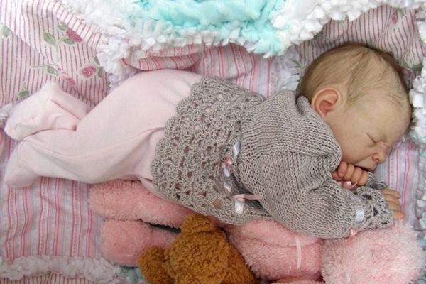 kukly reborn pochti nastoyashie mladency Куклы Реборн — почти настоящие младенцы