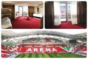 otel s vidom na futbolnoe pole otkrylsya v kazani Отель с видом на футбольное поле открылся в Казани