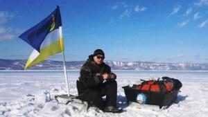 600 kilometrov po ldu rossiyanin peresek baikal vdol bez vyhoda na bereg 600 километров по льду: россиянин пересек Байкал вдоль без выхода на берег