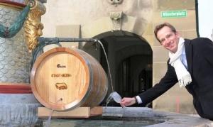fontan s vinom zarabotal v cyurihe Фонтан с вином заработал в Цюрихе