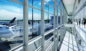 aeroport myunhena otkryl terminal na letnom pole Аэропорт Мюнхена открыл терминал на летном поле