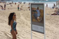 plyaj tel aviva prevratitsya v galereyu iskusstv Пляж Тель Авива превратится в галерею искусств