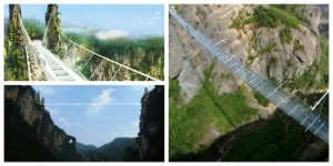 samyi dlinnyi steklyannyi most v mire postroili na meste semok avatara Самый длинный стеклянный мост в мире построили на месте съемок «Аватара»