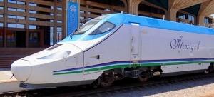 tashkent i buharu svyazal skorostnoi poezd Ташкент и Бухару связал скоростной поезд