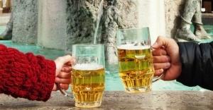 fontan s pivom zarabotal v slovenii Фонтан с пивом заработал в Словении