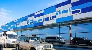 mikroavtobusy dostavyat turistov iz aeroporta simferopolya na kurorty Микроавтобусы доставят туристов из аэропорта Симферополя на курорты