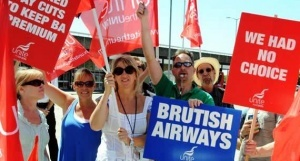bortprovodniki britanskih avialinii provedut zabastovku v rojdestvo Бортпроводники «Британских Авиалиний» проведут забастовку в Рождество