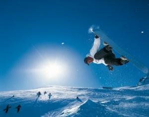 svobodnoe padenie na lyjah Свободное падение... на лыжах