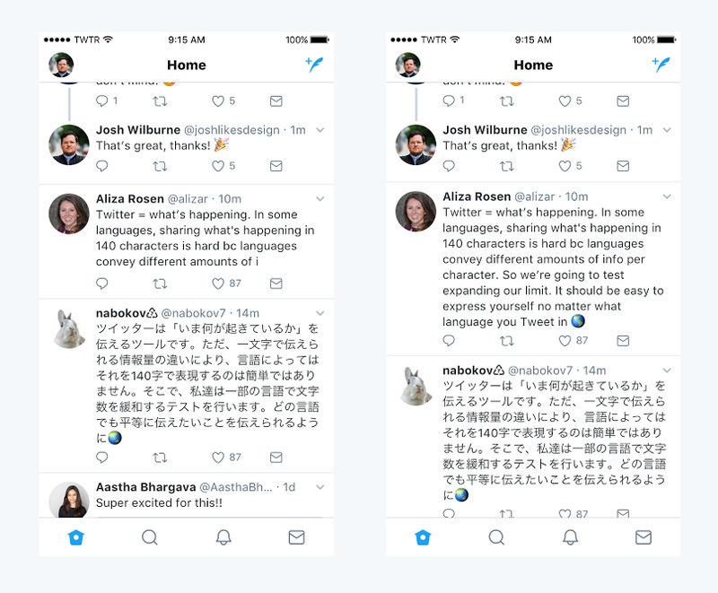 Twitter udvoit dlinu soobshenii Twitter удвоит длину сообщений