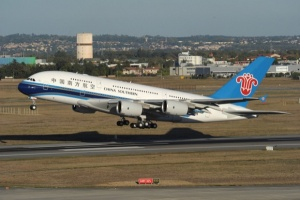 China Southern zapustila A380 v sidnei China Southern запустила A380 в Сидней