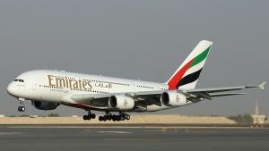 Emirates otpravila aerobus A380 na mavrikii Emirates отправила аэробус A380 на Маврикий