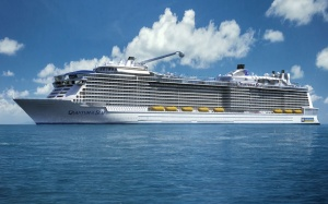 Royal Caribbean predstavila novyi lainer Quantum Royal Caribbean представила новый лайнер Quantum