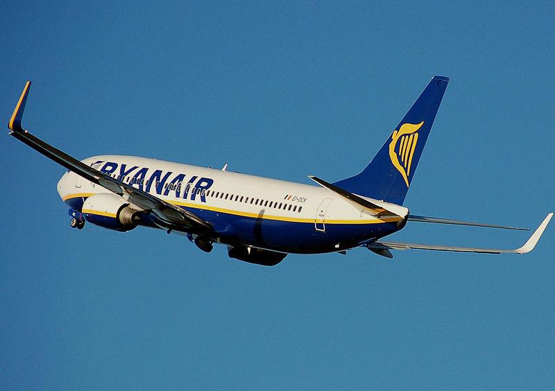 Ryanair признана самой плохой авиакомпанией
