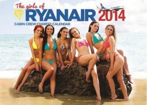 Ryanair vypustil novyi kalendar s poluobnajennymi styuardessami Ryanair выпустил новый календарь с полуобнаженными стюардессами
