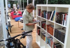 Библиотека под открытым небом открылась на ВДНХ